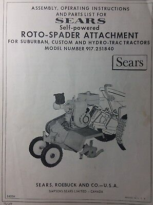 Best Deals On Sears Suburban Tractor Parts - shopping123 com