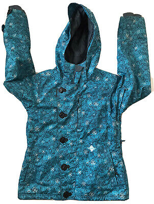 SIMS INSULATED WATERPROOF Women's Medium Ski Snowboard Jacket Coat Hooded Zip