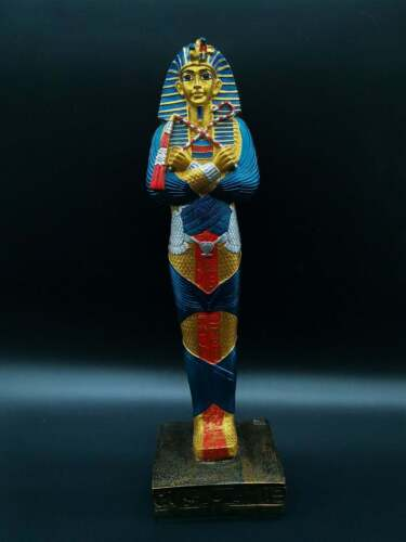Unique Ancient Egyptian Statue of King Tutankhamun Solid Stone made in Egypt
