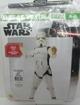 Kid Stormtrooper Costume (New Child Disney Star Wars Stormtrooper Costume with Mask  Size Small)