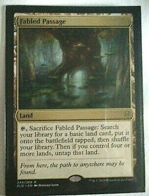 *Fabled Passage* MTG Throne of Eldraine NM #244 x1