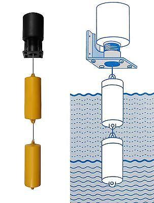 Automatischer Schwimmerschalter 230V / 15A Wasserstandsensor Füllstandsschalter