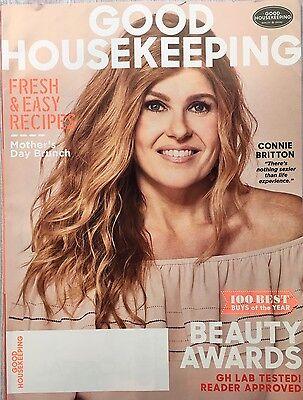 Good Housekeeping Magazine Mayl 2017   Connie Britton  Beauty Awards  Brunch