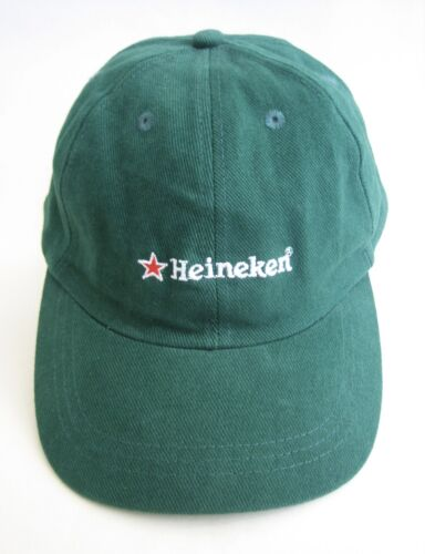 Heineken Beer Hat Baseball Cap Green Red Star