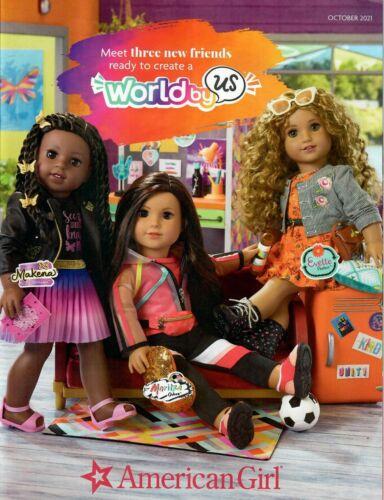 American Girl October 2021 Catalog (B48-OC21) NO LABEL!!!
