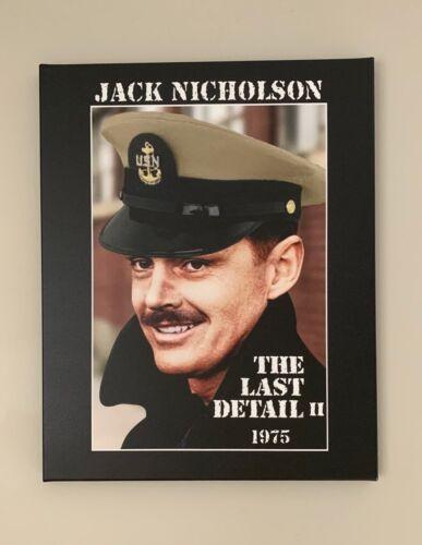 "Jack Nicholson The Last Detail Navy Chief 20""x16"" Canvas Print + Navy CPO Coin"