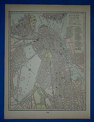 1892 Caledonia New York Vintage Old Panoramic NY City Map 20x30