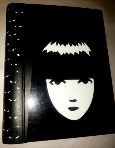 Emily the Strange ESP 2001 Little Black Book Extra Stickers UNUSED PRE-OWNED EUC