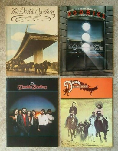 THE DOOBIE BROTHERS Songbooks STAMPEDE One Step Closer SELF-TITLED Best of Vol 2