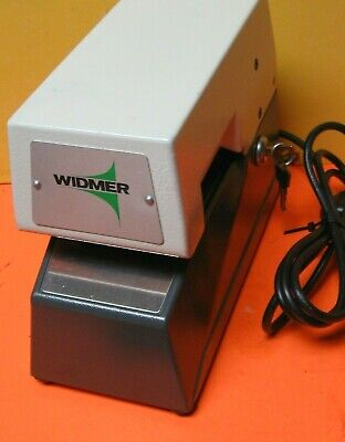Widmer T3 T-3 Electronic Time Date Stamp Wkeys Very Clean Solid 2027 Date Wheel