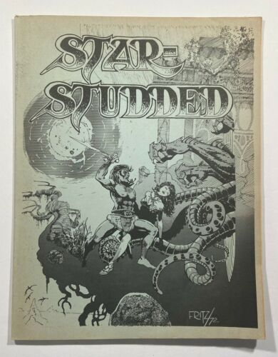 Star-Studded #18 Steve Fritz Cover Final Issue Dave Cockrum 1972 Fanzine