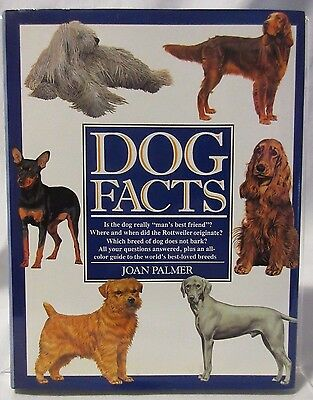 Dog Facts Joan Palmer (1991, Hardcover)