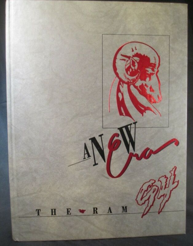 1994 The Ram Winston-Salem State University Yearbook, Winston-Salem, NC