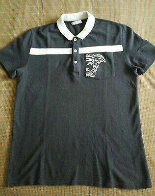 VERSACE COLLECTION POLO T.SHIRT : SIZE LARGE  80S CASUALS 90S TERRACE WEAR
