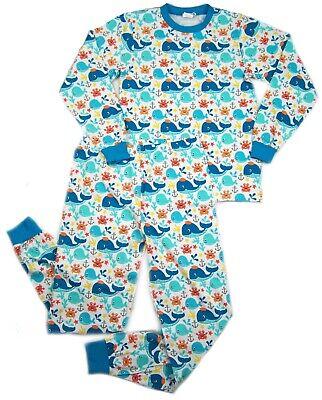 IMPROVED Adult size PJ's  Whales & Sea Life print autistic diaper wear](Adult Pj)