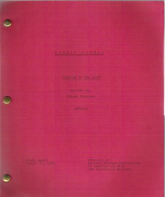 HAWAII 5-0 original television script LEOPARD ON THE ROCK