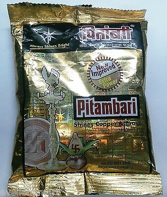 Pitambari  Shines Copper & Brass  200 GM  Shining Powder