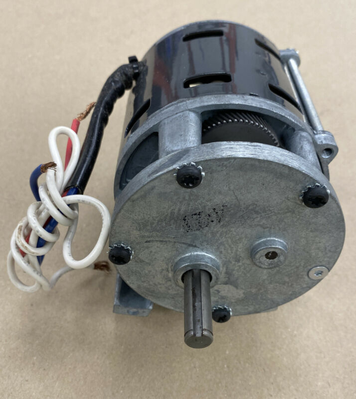 Reversible 10 RPM, 65 in-lb, 1/40 HP gearmotor previously supplied to Siemens