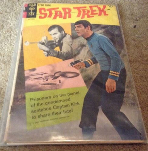 Star Trek #2 - Gold Key 1968 - Photo Cover and Photon Torpedoes!  What??
