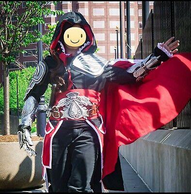 Assassin's Creed Ezio Black Cosplay  - Ezio Black Costume