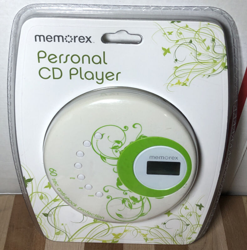 NEW SEALED Memorex Personal CD Player with Skip Protection and Earbuds