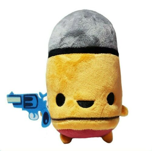 """Enter The Gungeon Yellow Bullet Plush Figure + PC Steam Code 6"""" Official Plushie"""
