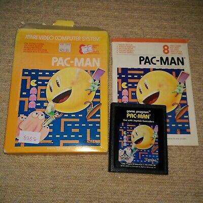 PAC-MAN  - Rare Boxed ATARI 2600 Game