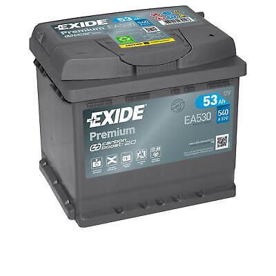 Autobatterie Exide EA530 12V 53Ah 540A Starterbatterie