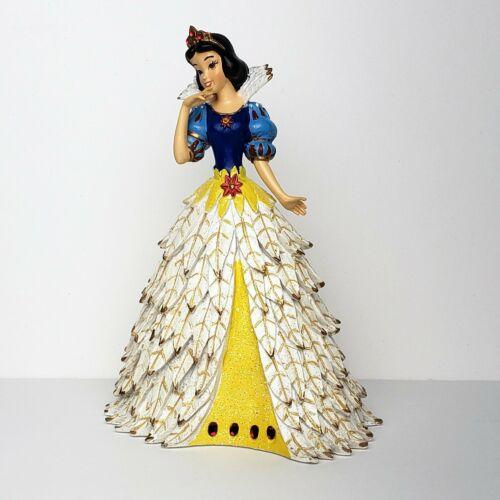 Bradford Exchange Disney Snow White Snowy Poinsettia Princess Figurine NIB