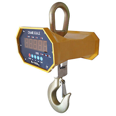 833142N Industrial Digital Hanging Crane Scale 5000KG 5ton