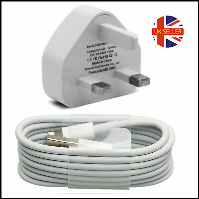 100% Genuine CE Charger Plug & USB Data Cable for Apple iPhone 6 7 8 Plus 11 XS