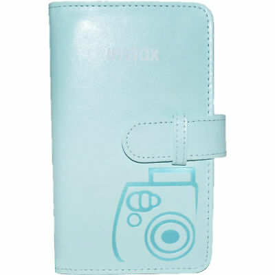 Fujifilm Instax Mini Wallet 108 Photo Album for 7S 8 9 25 50S 90 ICE BLUE #9050