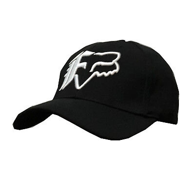 NWT Fox Men's Ball Sport Cap/Hat S/M Size FlexFit Black #20 Great Xmas Gift
