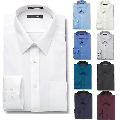 Damon Big and Tall Dress Shirt Ultra Poplin Point Collar