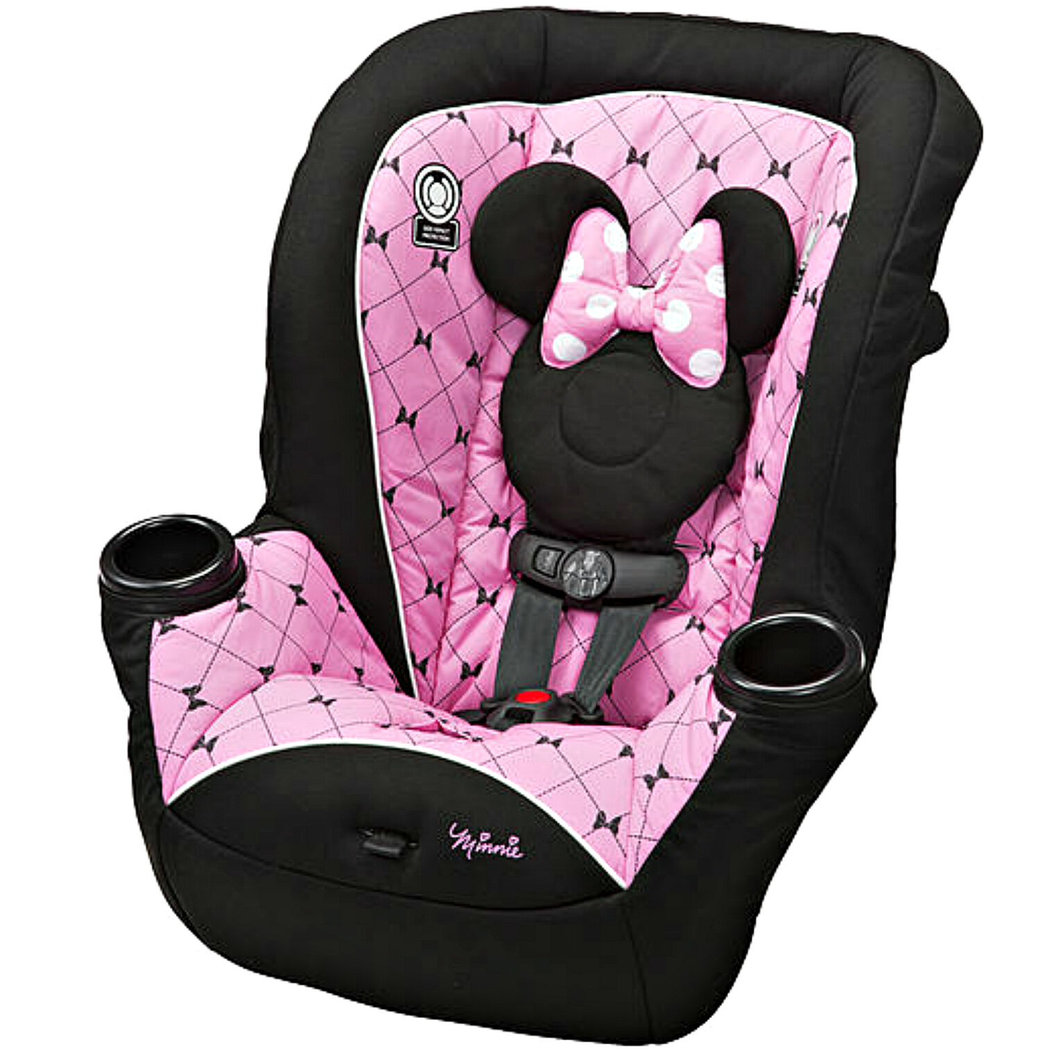 minnie mouse convertible baby car seat toddler safe forward rear face travel new. Black Bedroom Furniture Sets. Home Design Ideas