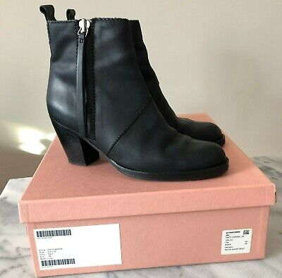 Acne Studios Pistol Boot Black Size US 9/ IT 39