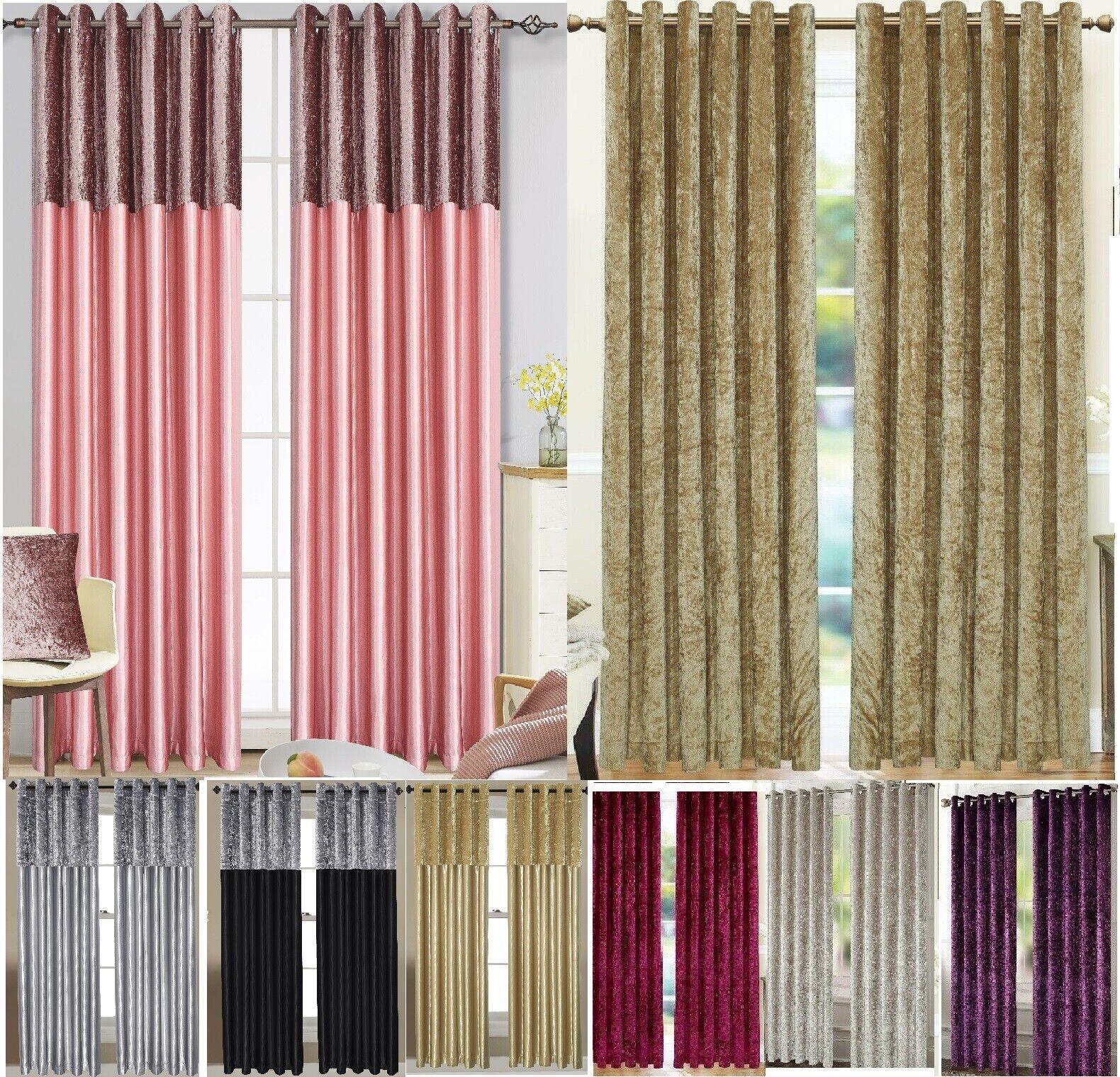 Harlow Thermal Blockout Eyelet Curtains