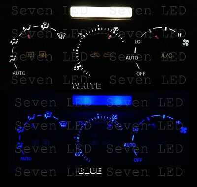 01 05 IS300 Replacement Led bulbs for Climate Control and Clock fits Lexus