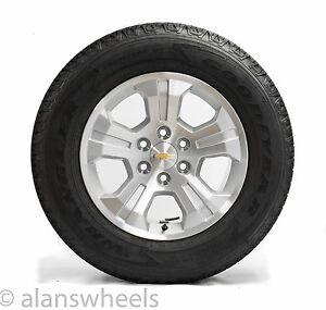 Four New Chevy Silverado Avalanche Z71 18