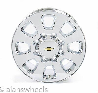 NEW Chevy Silverado HD 600 600 600Lug 600x6060 1600 Chrome Wheels Rims Cool Chevy 8 Lug Bolt Pattern