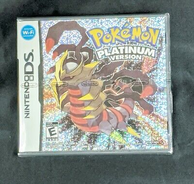 Pokemon Platinum Version * Nintendo DS NDS * Complete * Factory Sealed