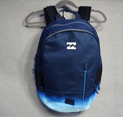 New Billabong Skateboard Team Ocean Blue Mens Unisex Backpack Bag RBCK-258
