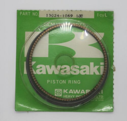 NOS Kawasaki O/S 1.00 LL Piston Ring Set Vulcan 750 13024-1069 New BIND
