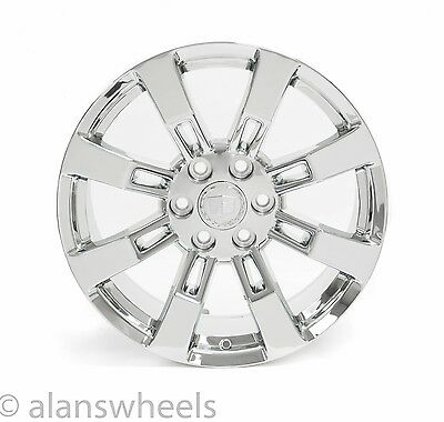 "4 NEW Cadillac Escalade ESV EXT Chrome 20"" Wheels Rims Lugs Free Shipping 5409"