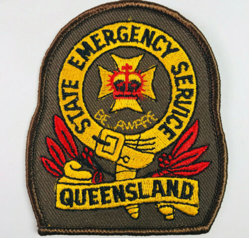 Queensland State Emergency Service Fire EMS Australia Patch