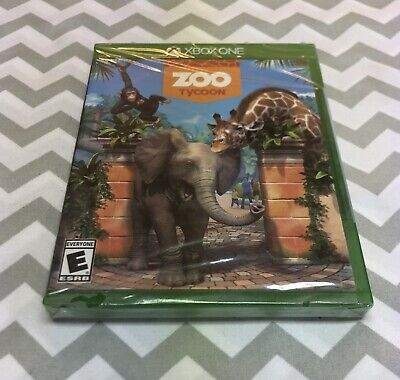 Zoo Tycoon- Xbox One. Brand New, Sealed! Fast Shipping!! 🔥