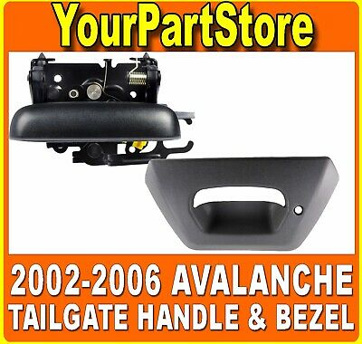 19209650 GM1915115 Outside New Tailgate Handle Chevy Avalanche 1500 15086873