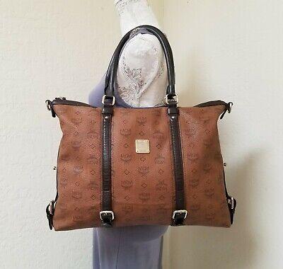 MCM Dark Brown Shoulder Bag Handbag