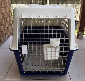 K9 PET CARRIER / TRAVEL CAGE - XL (82X56X60CM) PP50 AIR APPROVED The Gap Brisbane North West Preview