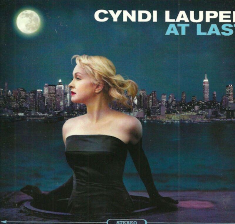 Cyndi Lauper signed At Last cd